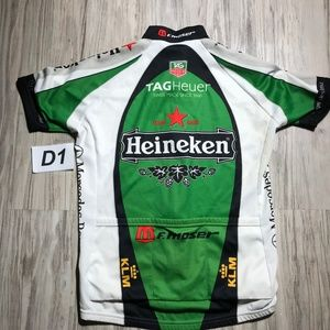 SMS SANTINI Shirts - SMS Cycle Jersey Heineken Tag Hauer Mercedes Benz 942cde2f6